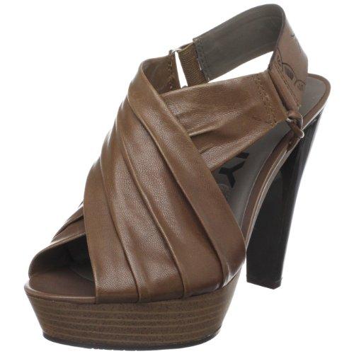 Dknyc Womens Laila Plateforme Sandale Marron