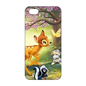 3D Bambi Cartoon For HTC One M7 Phone Case Cover