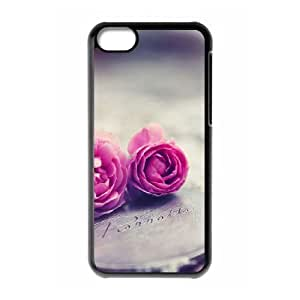 2 Pink Roses Case For iPhone 6 plus 5.5'