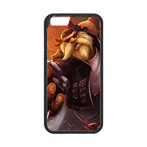 iPhone 6 4.7 Inch Cell Phone Case Black League of Legends Vandal Gragas PD5259864