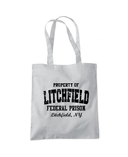 Federal Fashion Black Black Shopper Grey Prison Light Bag Orange Litchfield Tote dqwYFBdx
