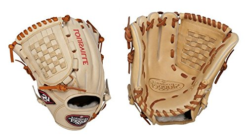 (Louisville Slugger 12-Inch FG Pro Flare Baseball Infielders Gloves, Cream, Left Hand Throw)