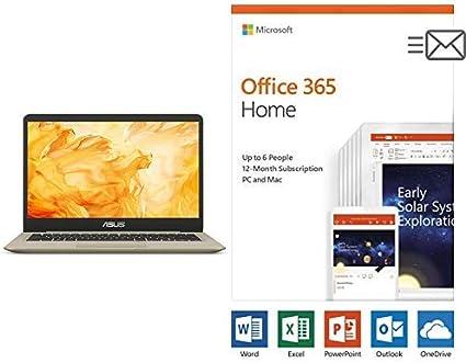 Intel Core i7-8565U 16GB RAM Intel UHD Graphics 620 with Office 512GB SSD Asus S532FA-AB71-CA VivoBook S15 Thin and Light 15.6 FHD