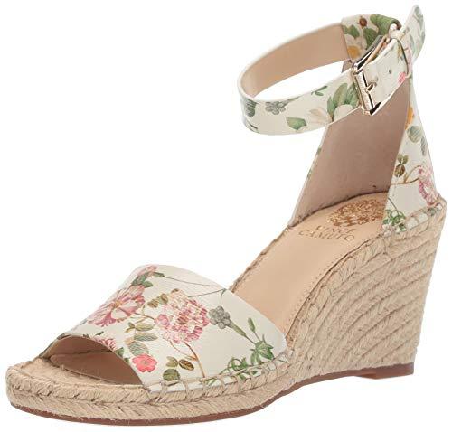 Vince Camuto Women's Leera Espadrille Wedge Sandal, Pretty, 5 Medium US ()