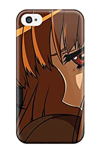 Spice And Wolf Animal Ears Anime Holo The Wise Wolf Case Compatible With Iphone 4/4s/ Hot Protection Case