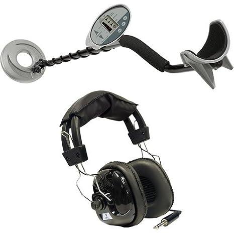Bounty Hunter descubrimiento 1100 Detector de metales con auriculares: Amazon.es: Deportes y aire libre