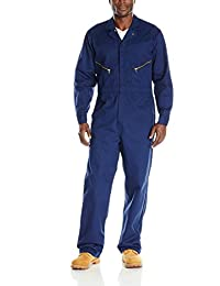 Red Kap Mens Zip-Front Cotton Coverall