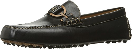 Donald J Pliner Heren Riel Slip-on Loafer Zwart