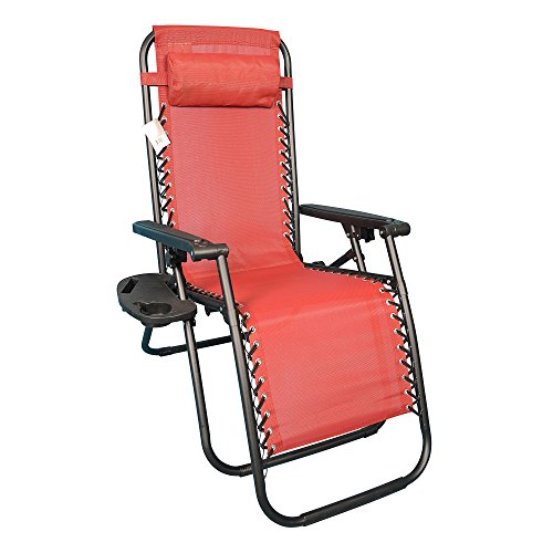 Backyard Expressions 906631 Anti-Gravity Chair, Red