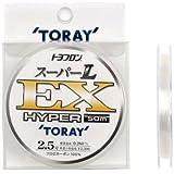 東レ(TORAY) ハリス トヨフロン スーパーL・EX ハイパー フロロカーボン 50m 2.5号 ナチュラル
