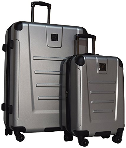 Kenneth Cole Reaction Get Away 2 Piece Set: 29'' & 20'' Expandable Spinners (Light Silver) by Kenneth Cole Reaction
