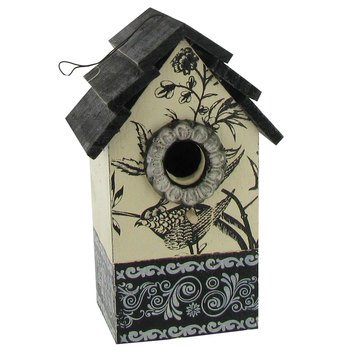 wood-birdhouse-with-bird-stenciling