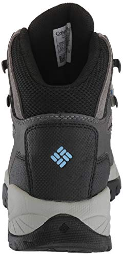 Columbia Women's Newton Ridge Plus Hiking Boot, Quarry/Cool Wave, 5.5 Wide US by Columbia (Image #2)