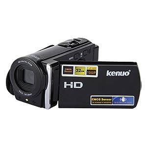 Kenuo HD 1080P 16MP Caméscope numérique DV caméra vidéo numérique 3.0 TFT LCD écran avec 16x Zoom DV