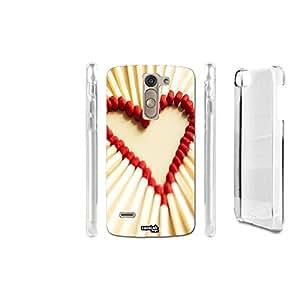 FUNDA CARCASA FIAMMIFERI HEART PARA LG G3 STYLUS D690