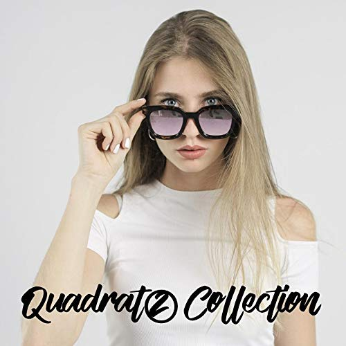 amp; de Polarizadas amp; Gafas Exclusiva Gatto Quadrato Crystal Mujer Pataky Elsa sol CLANDESTINE Quadrato Colección Hombre Y8Ixqf5