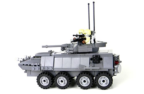 LAV-25: A LEGO® creation by World Of Recreation : MOCpages.com