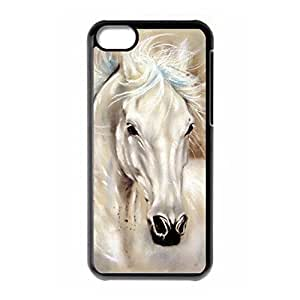 Hard back shell with WarHorse style for iPhone 5C