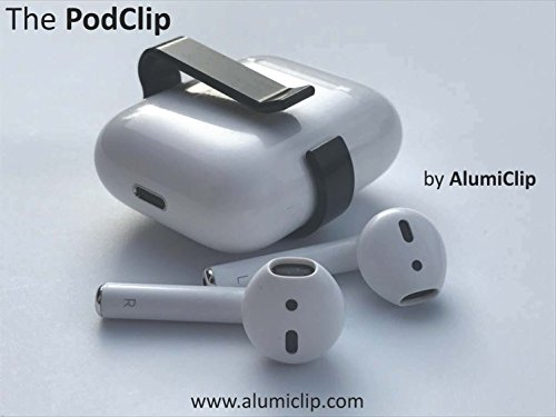 PodClip for AirPods - Belt Clip & Carrying Holster Holder for The Apple AirPod Case