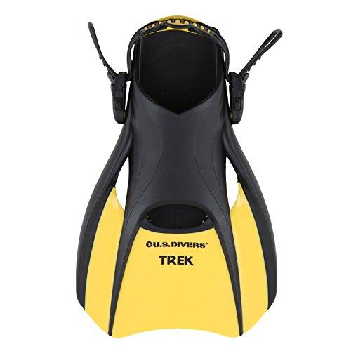 U.S. Divers Adult Trek Travel Fin (Yellow, Small)