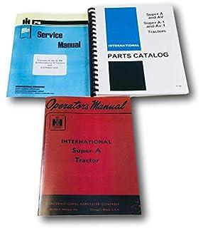 Amazon com: All States Ag Parts Service Manual - KU-S