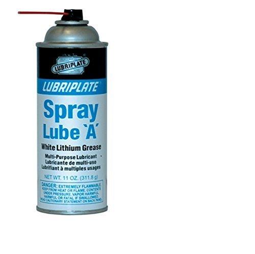 Lubriplate,spray Lube A, L0034-063, White, Lithium Grease, Ctn12/11 Oz Spray