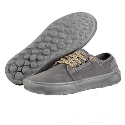 Dunkelgrau Dude Herren Buster Washed Shoes PFpKqpwZ