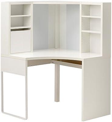 IKEA esquina estación de trabajo, marrón 22210.17223.48: Amazon.es ...
