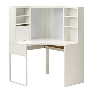 IKEA esquina estación de trabajo, marrón 22210.17223.48 ...