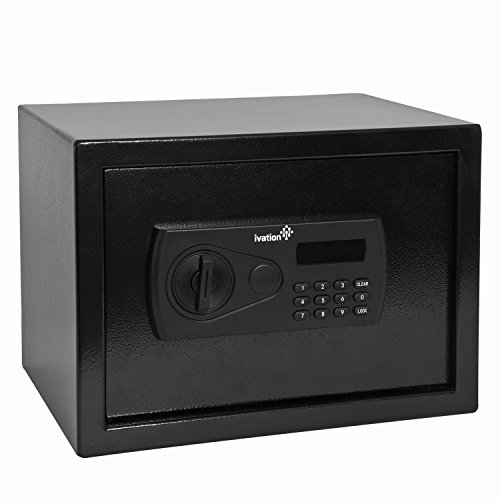 Ivation Steel Digital Safe Security