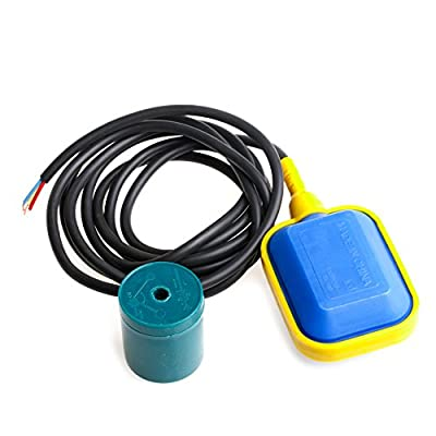 Aluoflower 250V 2M Cable Float Switch Fluid Water Level Controller Contactor Sensor New