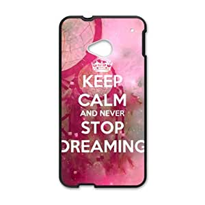 Happy Never Stop Dreaming Cell Phone Cell Phone Case for HTC One M7