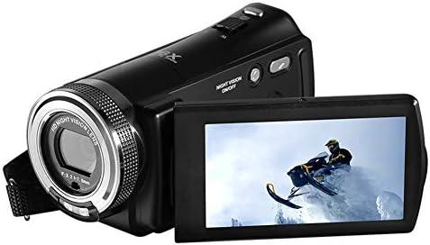 デジタルビデオカメラ、デジタルカムコーダー、30FPS HD 1080P WIFIビデオカムコーダー、16Xデジタルズーム、顔検出、セルフタイマー、リモートコントロール、USB充電式