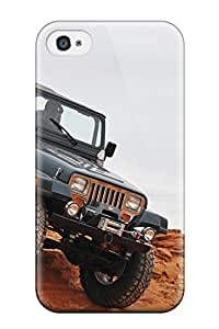 Premium Jeep Back Cover Snap On Case For Iphone 4/4s
