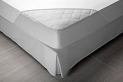 Pikolin Home - Protector de colchón acolchado cubre colchón Aloe Vera, impermeable y transpirable, 90 x 190/200 cm, cama 90 (Todas las medidas): Amazon.es: ...