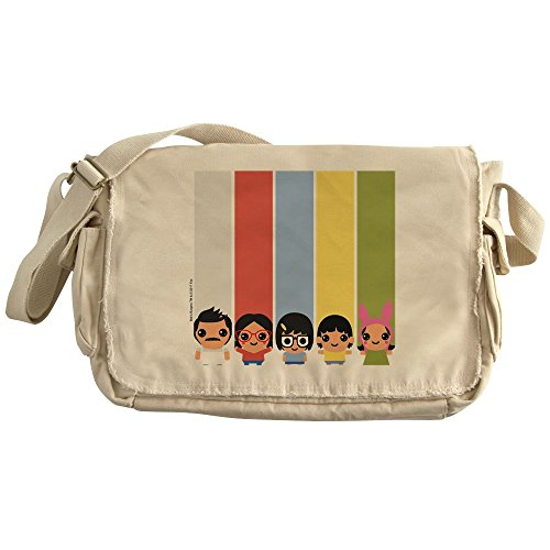 CafePress - Bob's Burgers Family - Unique Messenger Bag, Canvas Courier Bag by CafePress