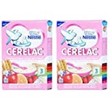 2 LOT X Nestle Cerelac Wheat-Rice Mixed Fruits - Stage 3 - 10 Months + (300 g x 2)