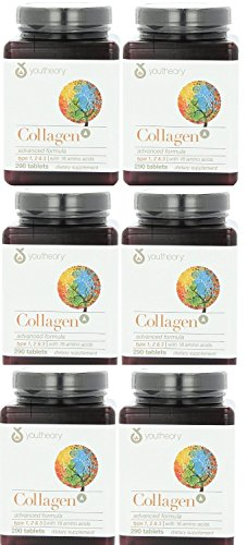 (Youtheory - Collagen Advanced Formula Type 1,2 & 3 290 X 6)