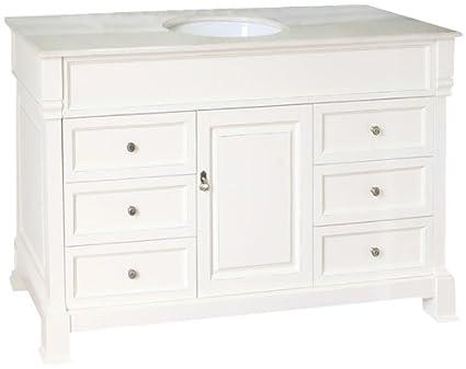 Bellaterra Home 205060 S CR 60 Inch Single Sink Vanity, Wood,
