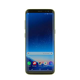 "Samsung Galaxy S8 (64GB) G950U 5.8"" 4G LTE Unlocked (GSM + CDMA, US WARRANTY) (Midnight Black)"