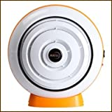 AirTec Habanero 1 Deodorizing Quiet Air Purifier with re-usable dual E-Nano Filter Technology CE Certified & Energy efficient (Orange)
