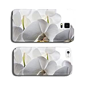 orchid flower isolated cell phone cover case Samsung S5
