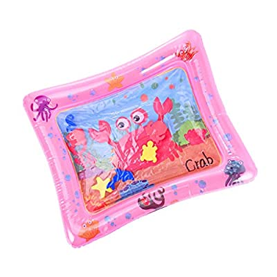Fineday Children and Baby Inflatable Baby Water Pad Fun Activity Play Center, Baby & Toddler Toys (Pink), Shipping from The United States: Garden & Outdoor