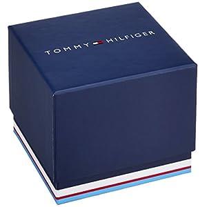 Reloj analógico de cuarzo para hombre Tommy Hilfiger Trent 1791066, correa de piel marrón. 5