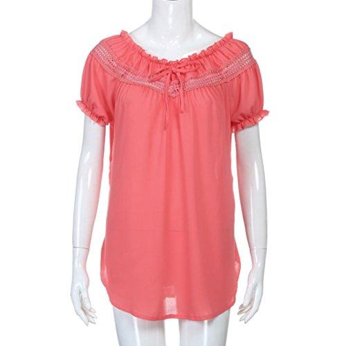 de en Dcontracte Rouge Chemises lgance Beikoard Tops de Blouses Haut Dames Femme Soie Bohme Top Sport T Yoga d't Sexy Shirt Mousseline aTt1HxqT