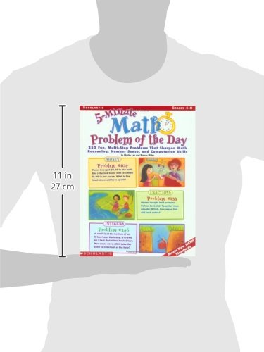 Amazon.com: 5-Minute Math Problem of the Day: 250 Multi-Step Word ...
