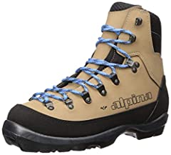 Built for women on a slightly narrower women's last, the Alpina Montana EVE NNN-BC backcountry touring boots were designed to get ladies out in the backcountry for those special days of skiing. The Thinsulate insulated durable and waterproof ...