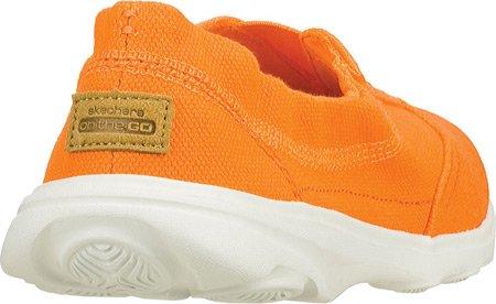 Skechers Rendimiento Ir liso retrocesos zapatos Caminar Orange