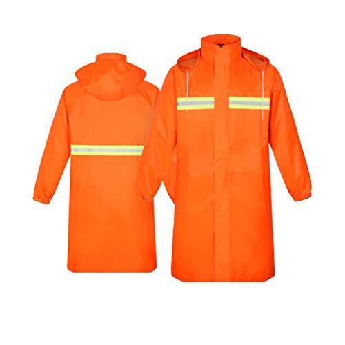 Randonnée Orange Réutilisable couleur M Long Camping Voyage Extérieur Pour Top Jxjjd Imperméable Et Imperméable Noir Épais Taille vaqBgfw