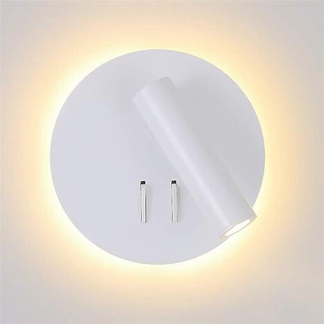 Luz de la pared LED con el proyector interruptor de luz de fondo ...